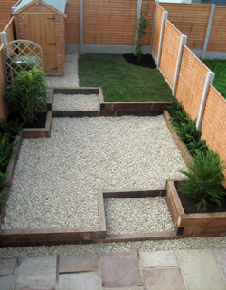Professionally designed and constructed garden